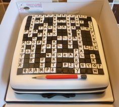 Cake Decoration Crossword Clue : 70th birthday cakes on Pinterest Crossword, Rugby and ...