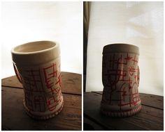 Chop, Clay, Ceramic. Decoración Sobrecubierta. Sofia Lenzi