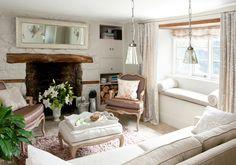 Luxury Cottage Breaks for Couples in Devon Devon Cottages, Romantic Cottage, French Cottage, French Country, Provence, Cottage Breaks, Honeymoon Cottages, Inglenook Fireplace, Ideas