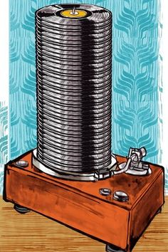 Who will mourn the death of CDs? Not me. (Great article on the death/rebirth of vinyl LPs)