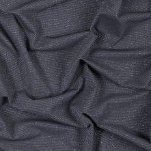 Gray+and+Metallic+Silver+Striped+Rib+Knit