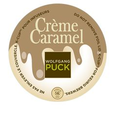 Wolfgang Puck Creme Caramel: Just tried it and I love it! Another one that's k-cup only. Hmm, what am I going to do with this new Keurig Vue?