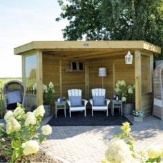 mercia fsc corner summerhouse 7x7 balcony and small gardens pinterest corner sheds sheds and products - Corner Garden Sheds 7x7