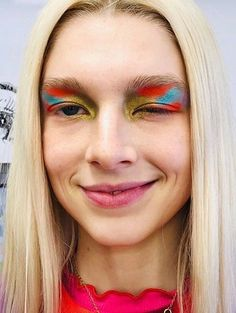 Edgy Makeup, Unique Makeup, Creative Makeup Looks, Cute Makeup, Makeup Goals, Makeup Art, Beauty Makeup, Hair Makeup, Gothic Makeup