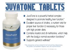 JuvaTone is a powerful herbal complex designed to promote healthy liver…
