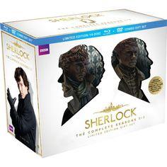 Sherlock : Saisons 1 à 3 complètes – Coffret-cadeau DVD et Blu-ray édition…