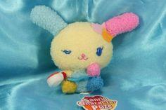 Sanrio Usahana cook Cute Plush Doll Japan Rare