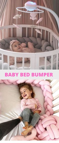 Baby bumper for baby Multifunctional Product: The baby bumper pillow can be used in a variety of uses such as bed bumper, breastfeeding suppo. Newborn Bed, Newborn Nursery, Newborn Care, Breastfeeding Storage, Breastfeeding Support, Crib Wall, Newborn Announcement, Baby Bumper, Bed Bumpers