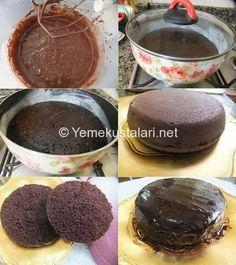 Tencerede kek