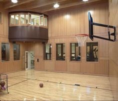 15 Ideas for Indoor Home Basketball Courts | Basketball court, Maple ...
