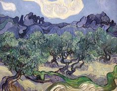 Vincent Van Gogh, The Olive Trees