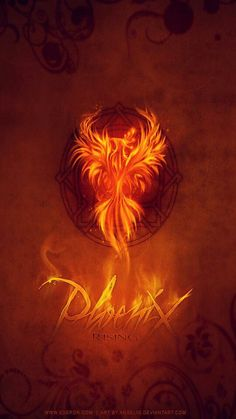Phoenix Portrait from Fire Wallpaper App Phoenix Wallpaper, Wallpaper App, Phoenix Rising, Quilled Paper Art, Fire And Ice, Tattoo Inspiration, Portrait, Tattoos, Metal