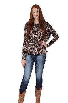 I've Got My Reasons Leopard Top