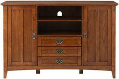 Artisan 3 Drawer TV Cabinet