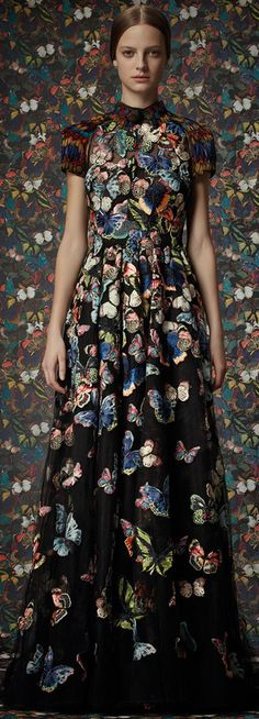 butterfly dress - Valentino Pre-Fall 2014