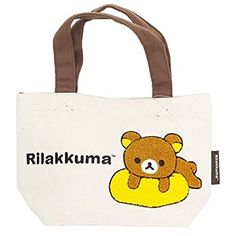 K company Rilakkuma Mini Sac Fourre-tout en tissu Chenille du Japon: Amazon.fr: Jeux et Jouets