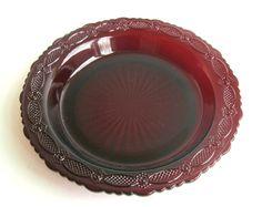 Vintage Avon Cape Cod Pie Plate
