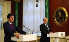 Встреча с Премьер-министром Японии Синдзо Абэ   В Кремле состоялась встреча Владимира Путина с Премьер-министром Японии Синдзо Абэ.   27 апреля 2017 года 17:50   http://www.kremlin.ru/events/president/news/54388