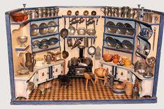 Sechseckküche um 1900 von Christian Hacker