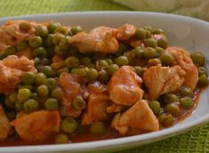Slow Cooked Veal with WW Peas - Main Course and Recipe Simmered veal with WW peas, recipe for a tasty light dish made from meat and vegetables, easy and quick to prepare for a. Ww Recipes, Healthy Recipes, Healthy Food, Weigth Watchers, Plats Weight Watchers, Steamed Tofu, Grilled Tomatoes, Poached Apples, Energy Snacks