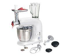 Robot cucina multifunzione 1200W bianco - 55x61x23 cm