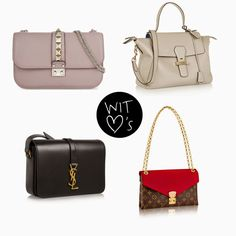 Wearing It Today - designer bags I love