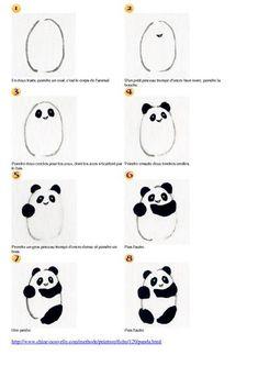 comment dessiner un panda