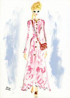 Chanel Pre-Fall 2012, Miyuki Ohashi