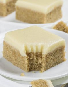 If you love banana bread but blondies as well, you must try this easy Banana Bread Blondies recipe. This simple one bowl recipe makes the best, moist and fudgy, banana blondies with brown sugar and cinnamon. And with sweet browned butter frosting they are over the top! Banana Bread... #banana