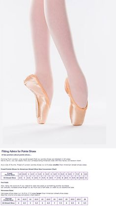 a6f7c1719cf5 Ballet 150663  New Freed Classic Ballet Pointe Toe Shoes Size 5 X  Dv Wing