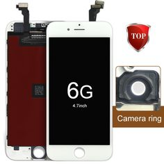 """33.60$  Watch here - http://alisjo.shopchina.info/go.php?t=32788805686 - """"2pcs Aliexpress highscreen LCD Display +Touch screen for iPhone 6g lcd (4.7"""""""")  black white & Fast Delivery & Shipping free"""" 33.60$ #magazineonlinewebsite"""