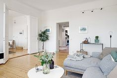 #DECO Apartamento de estilo Escadinavo en Gotemburgo | With Or Without Shoes - Blog Moda Valencia Tendencias
