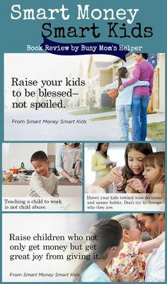 Smart Money Smart Kids: Dave Ramsey & Rachel Cruze's (his daughters) New Book / Review by BusyMomsHelper.com