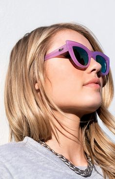 Quay Kitti Sunglasses Purple