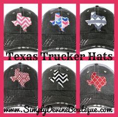 Texas Trucker Hats