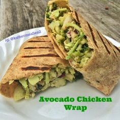 Ripped Recipes - Avocado Chicken Wrap - This is a delicious and filling meal, filled with healthy fats, and protein!