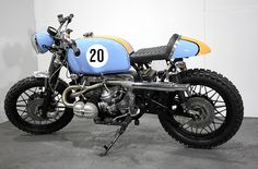 "BMW R100 RS ""Le Mans"" by Kevil's Speed Shop"