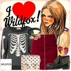 I Love Wildfox | Women's Outfit | ASOS Fashion Finder