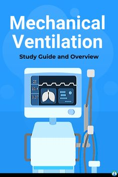 What is Mechanical Ventilation? This guide provides a complete overview of everything you need to know about Ventilators and Mechanical Ventilation. Nursing School Tips, Ob Nursing, Nursing Schools, Nursing Students, Medical Students, Icu Rn, Cranial Nerves Mnemonic, Flight Nurse, Mechanical Ventilation