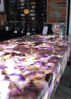 Amethyst Bar by Lucasso Stone - I would love this!!