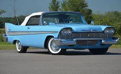 1958 Plymouth convertible