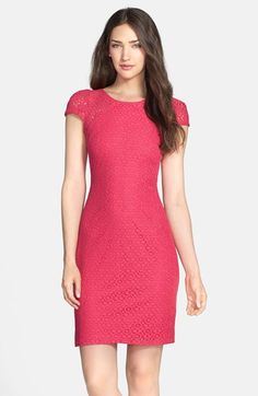 Donna Ricco Lace Sheath Dress