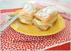 Kremalı milföy pastası tarifini çok seveceksiniz, hafta sonu önerisi olarak çocuklarınızla yaparak denemenizi tavsiye ederim. TARİFİN DEVAMI