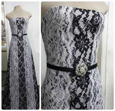 Uma grande proposta que sempre deu certo foi o preto e branco, e que veio com tudo neste verão. #vestido #dress