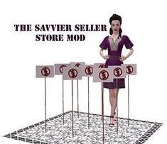 ModTheSims - The Savvier Seller Mod - Version 4 Play Episode, Sims 3 Mods, Play Sims, 3 Shop, Note, Download, Php, Video Games, Addiction
