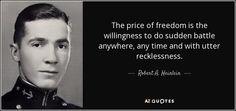 Robert A. Heinlein quote
