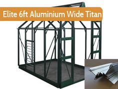 """6ft3"""" wide in multiple lengths. Premium greenhouse. Elite's Core-Vect technology creates a much thicker framework than any product they have made before, and more aluminium content than the leading competitors."""