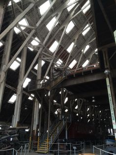 Roof at Chatham Dockyard