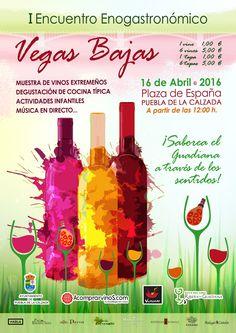 I Encuentro Enogastronómico Vegas Bajas del Guadiana. Muestra de vinos…