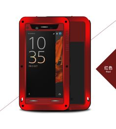Original Love Mei Powerful Case For Sony Xperia XZ Waterproof Shockproof Dirtproof Aluminum Cases Covers For Sony Xperia XZ